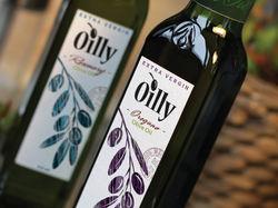 Дизайн логотипа и этикетки для оливкового масла