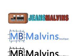 "Ребрендинг для магазина одежды ""JeansMalvins"""