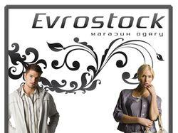 Борд-вывеска для магазина «Евросток»