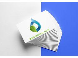 """Логотип для турагенства """"West Medical Tour"""""""