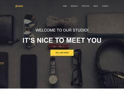 Сайт студии веб-дизайна