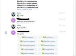 Telegram user через MTProto