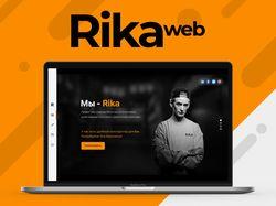 Rika - веб-дизайн.