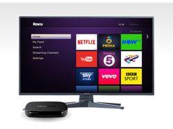 Дизайн приложения для ТВ-приставок Roku