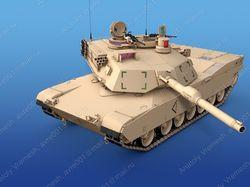 """M1-A1 """"Abrams"""""""