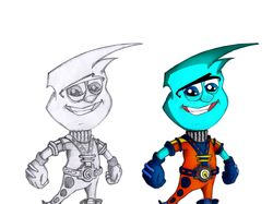 разработка персонажа для детских квестов