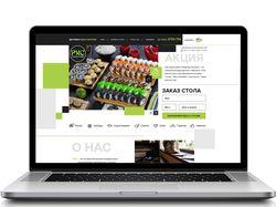 Сайт-магазин-суши-студии