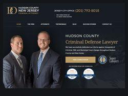 Верстка и натяжка на WP HudsonCountyCriminalLawyer