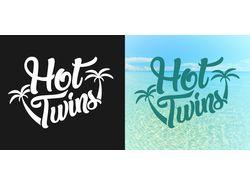 "Логотип ""Hot Twins"""