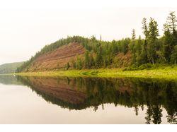 Север Сибири. Рыбацкие места. Пейзажи. Макро.