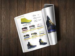 Верстка каталога обувных колодок