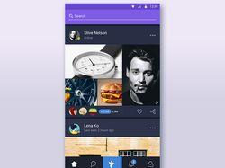 """Дизайн мобильного приложения """"Humm Bird"""""""