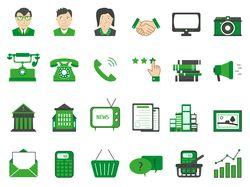 Иконки в деловом стиле