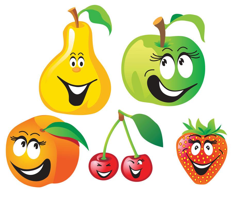 фрукты мульт картинки разрозненности группировок
