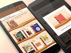 """Дизайн мобильного приложения """"Hilol eBook"""""""