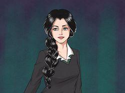 Девушка в комикс стиле
