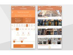 Hotel booking app: поиск отеля, гостиницы