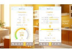 Smart home interface design