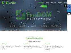 Разработка с нуля. Ссылка - freedom-dev.com