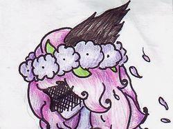 Девочка в лиловом
