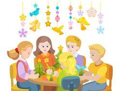 Детский кружок раннего развития, творчества