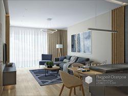 Номер апарт-отеля в современном стиле