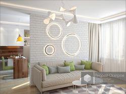Светлая квартира-студия