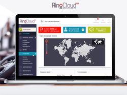 Виртуальная АТС  - админ панель пользователя
