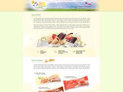 Дизайн сайта montecrispi.com