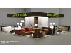"""Визуализация проекта - выставка """"Мебельный салон"""""""