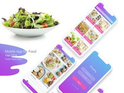 Mobile App Food 2018