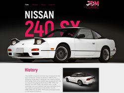 Сайт о классический японских спортивных авто.