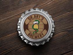 Лого для крышки крафтового пива