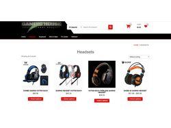 Сайт электронной коммерции (отзывчивый и дружелюбн