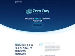 Zero Day — Global IT Services Company