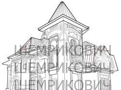 Векторная графика. Иллюстрации архитектуры