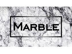 Визитка для сети магазинов Marble