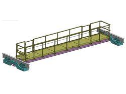 Оценка прочности конструкции мостового крана