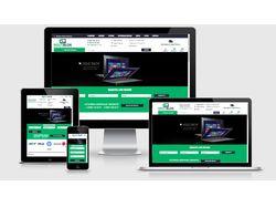 Магазин зарядных устройств на OcStore 2.3