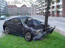 Разбиваем BMW