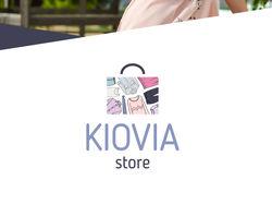 Логотип для магазина женской одежды Kiovia