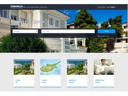 Homville –сервис продажи недвижимости на Кипре