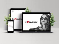 Дизайн лендинга магазина женской одежды