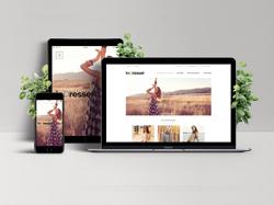 Дизайн сайта магазина женской одежды