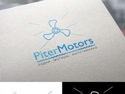 логотип pitermotors
