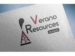 лого для нефтедобывающей ком Verano Resources GmbH
