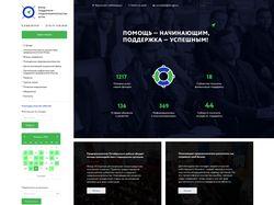 Главная страница сайта предпринимателей ЮГРЫ