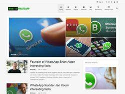 Сайт о WhatsApp