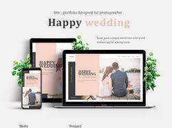 Портфолио для свадебного фотографа