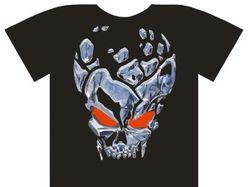 "Принт на футболку в стиле ""Heavy Metal"""